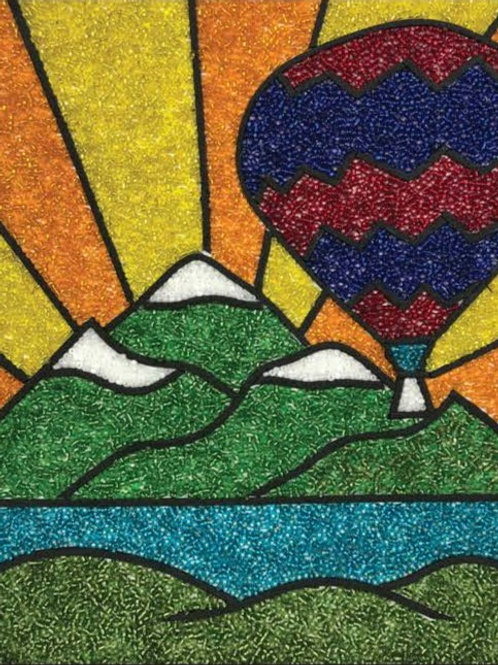 DIY Bead Mosaic Kit - Balloon Ride