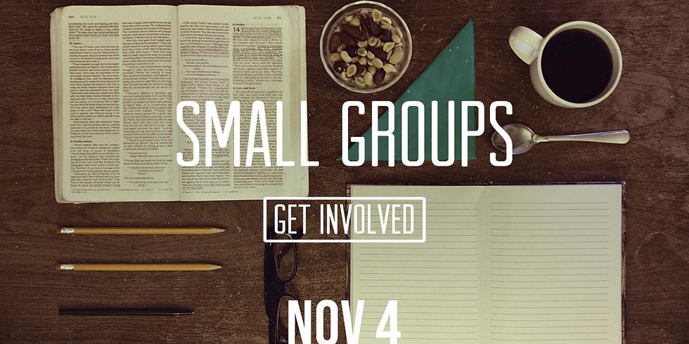 Small Groups Kick-Off