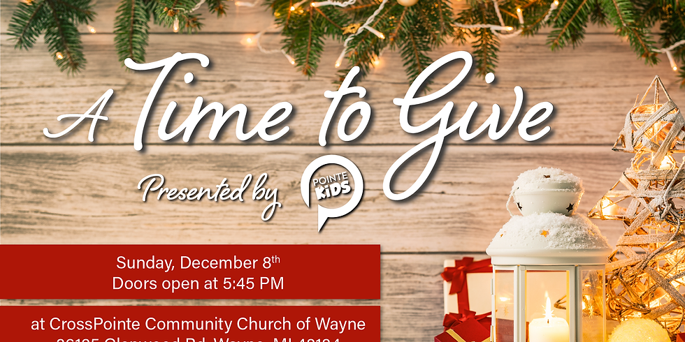 A Time to Give - A Christmas Children's Musical