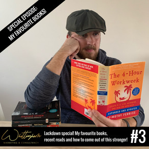 #3: Lockdown Special! My favourite books, recent reads and how to come out of this stronger!