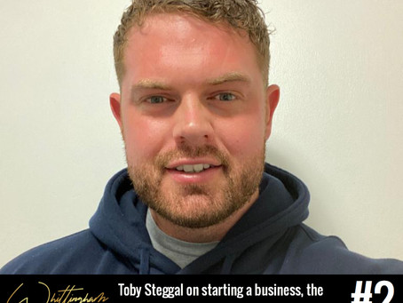 Toby Steggal - Starting a business, the origins of Pure View, & plans for the future!