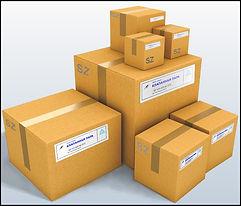 Упаковка клапанных пар в коробки