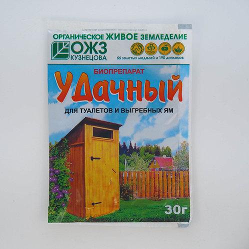 """""""Удачный"""" – биопрепарат для туалетов и выгребных ям"""