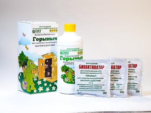 Горыныч – бинарный биопрепарат для туалетов и выгребных ям
