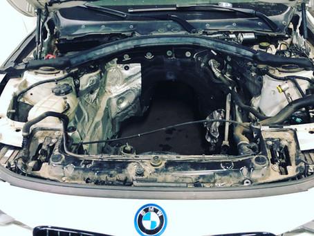 Remise en état d'un moteur N47 BMW 320D 2013