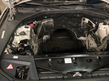 Chaine cassée sur BMW F30 2.0 Diesel N47