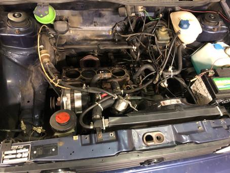Remise en état d'un moteur 1.8L de Golf 1 Cabriolet. (Moteur EX)