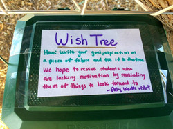 Message on the wish box