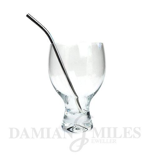Sterling Silver Drinking Straw