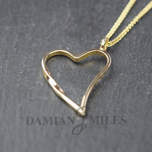 Eternal Heart pendant in 9ct Yellow Gold