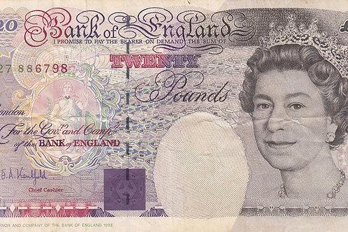 G. E. A. Kentfield £20, 1994