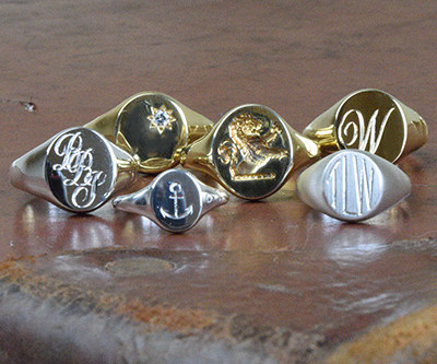 Signet Rings: Making your mark.