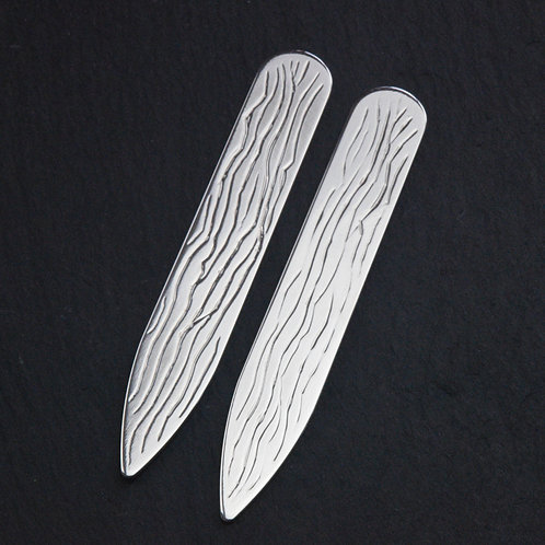Bark Pattern Collar Stiffeners
