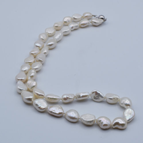 Nugget Pearl Necklace