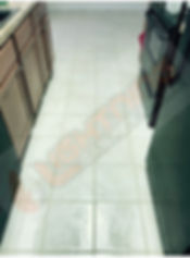Cleaned Tile & Grout
