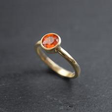 Mandarin Ganet Ring