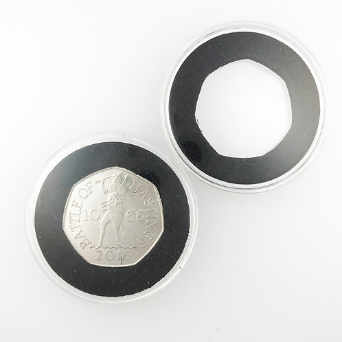 50 pence Coin Capsules