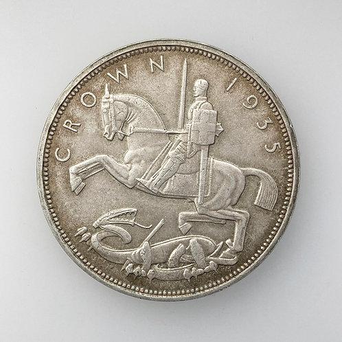 George V, Crown 1935.