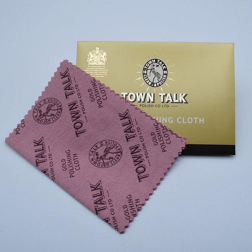 Gold Polishing Cloth by Town Talk. Mini Gold Polishing Cloth