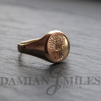 Seal Engraved Wheatsheaf