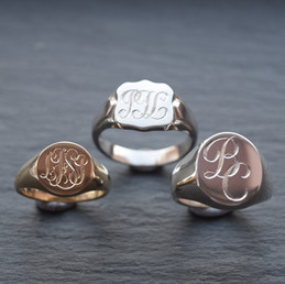 Engraved Signet rings 2