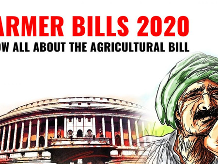 Farm Bills 2020; The Benefits And The Drawbacks