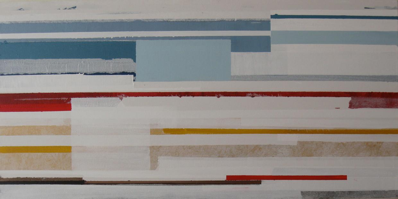 Untitled colorful horizontal stripe