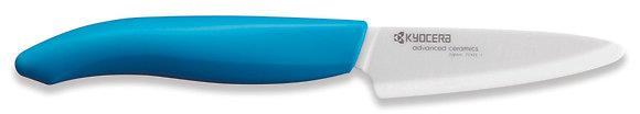 Hámozó kés 7,5cm Fehér penge Kék nyél