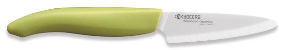 Hámozó kés 7,5cm Fehér penge, Zöld nyél