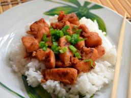 Japán gyömbéres csirke