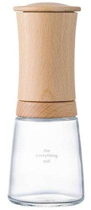 Kerámia Fűszer Malom Fa / Üveg állítható