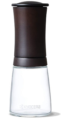 Kerámia Fűszer Malom Diófa / Üveg állítható