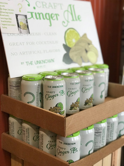 UNKNOWN BREWERY Craft Ginger Ale