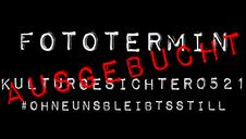 DER ERSTE FOTOTERMIN IST AUSGEBUCHT!