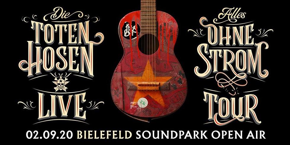 ABGESAGT - Soundpark Open Air - Die Toten Hosen - Alles Ohne Strom Tour 2020