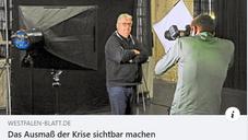 Das Westfalen-Blatt berichtet über Kulturgesichter0521