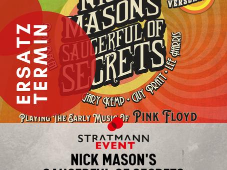 Ersatztermin Nick Mason's Saucerful of Secrets