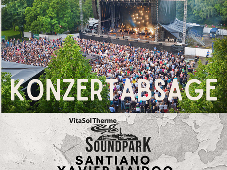 Absage VitaSol Soundpark Open Air