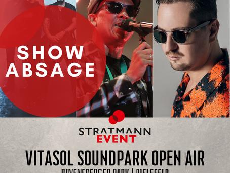 Konzertabsage VitaSol Soundpark Open Air