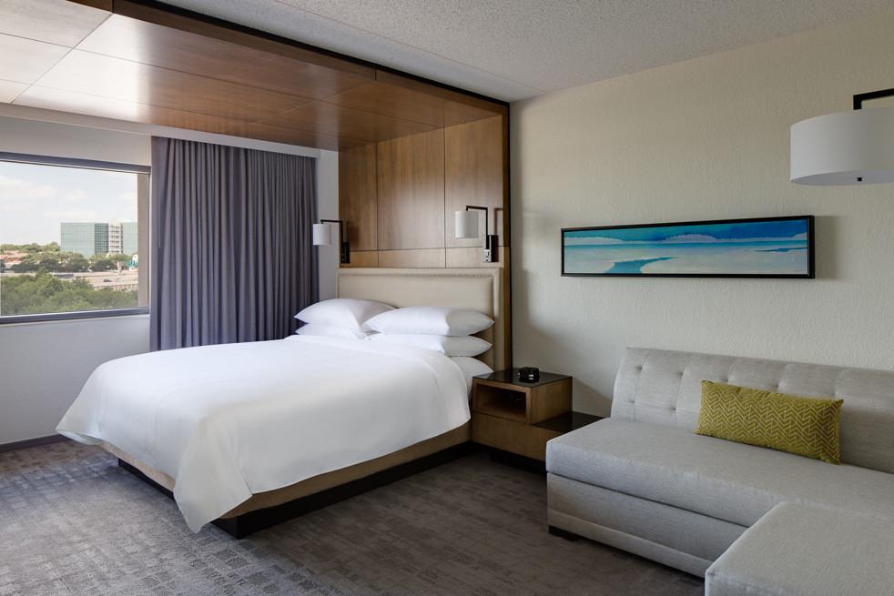 Marriott San Antonio Northwest, Hotel Design, Hospitality Design, Guestroom Design, Hotel Interiors