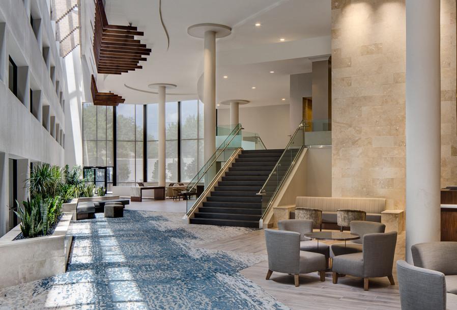 Marriott San Antonio Northwest, Hotel Interiors, Lobby, Hospitality Design