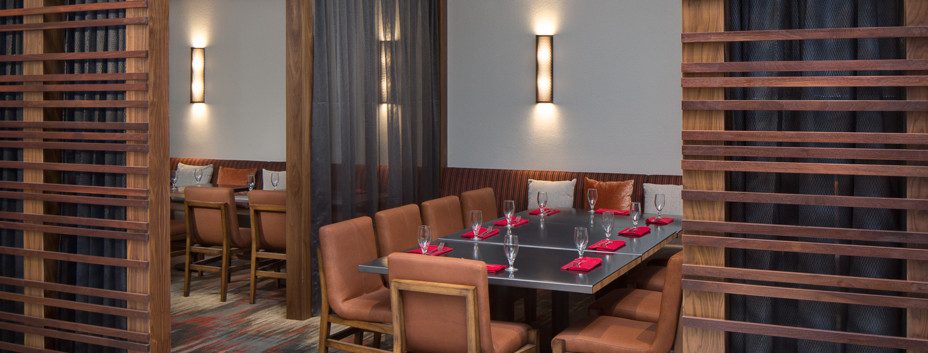 Asado, Marriott San Antonio Northwest, Hotel Interiors, Hospitality Design, Restaurant Design, Private Dining Room