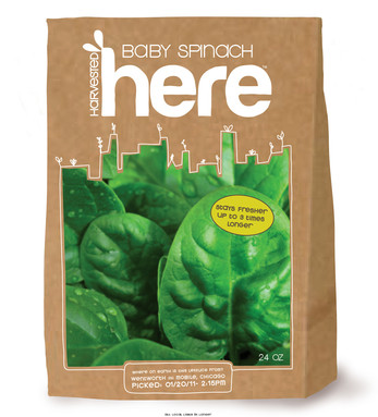 Packaging for greens
