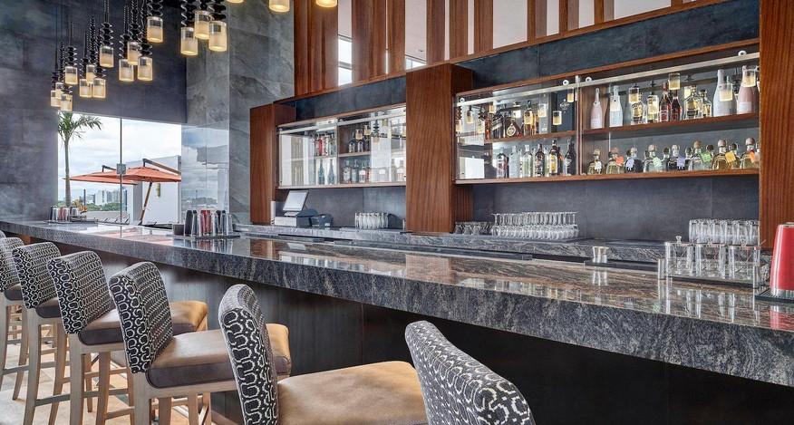 Marriott Santa Cruz, Bolivia Hotels, Hotel Interiors, Restaurant Design, Toborochi, Hospitality Design