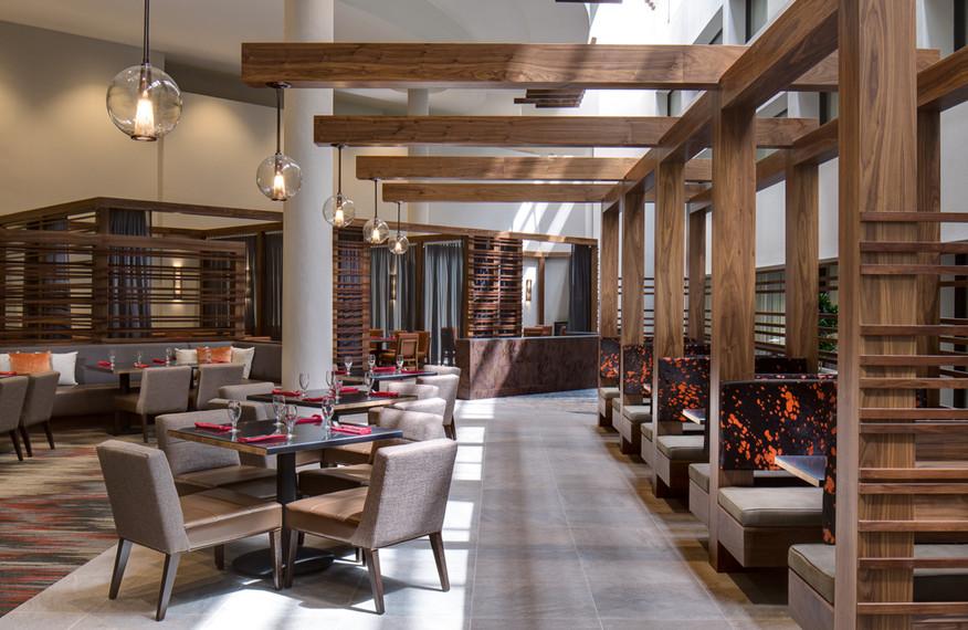 Asado, Marriott San Antonio Northwest, Hospitality Design, Hotel Interiors, Restaurant Design