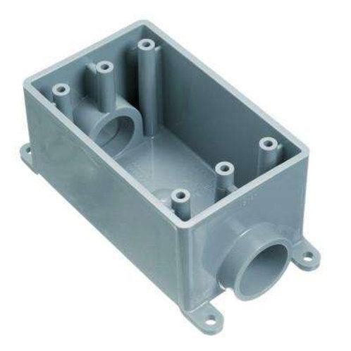 1/2 in. 1-Gang PVC FS Box