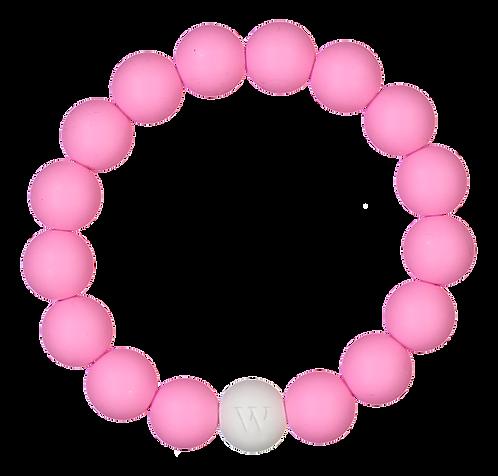 W PURE RANNEKORU / BRACELET - White edition (Pink)