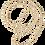 Thumbnail: W BOHEMIAN KAULAKORU / NECKLACE_8mm (Natural wood)