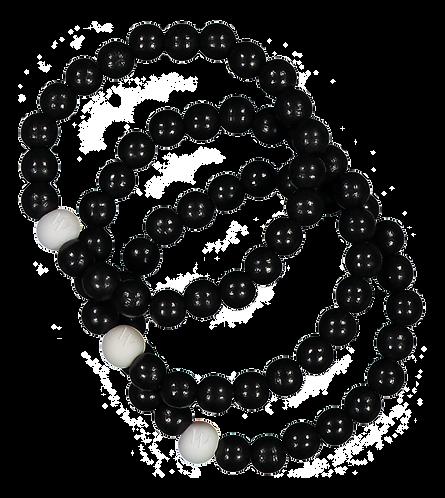 W BOHEMIAN RANNEKORU / BRACELET -set, 3pcs (Black)
