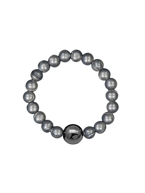 NEIGUAN® -AKUPAINANTARANNEKORU / ACUPRESSURE BRACELET -set (Silver)